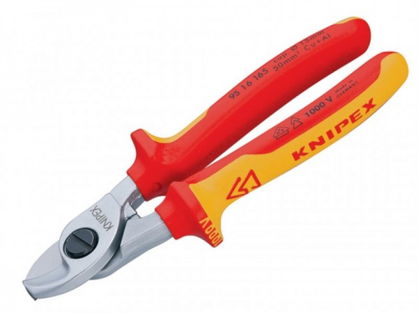 KNIPEX   95 16 165 SB CABLE SHEARS VDE