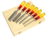 IRWIN Marples M373 Bevel Edge Chisel Splitproof Handle Set 6: 6, 10, 13, 19, 25 & 32mm £54.95