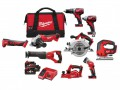 Milwaukee M18 9 Piece Power Pack 18V 3 x 4.0Ah Li-Ion £1,099.00 The Milwaukee M18 9 Piece Power Pack Comes With The Following:
