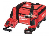 Milwaukee M18 FPD-402B Fuel Percussion Drill 18V 2 x 4.0Ah Li-Ion was £289.95 £249.95