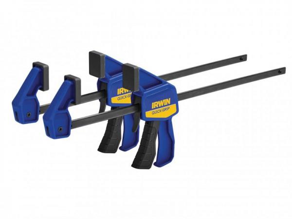 Irwin Quick-grip Mini Bar Clamp Twin Pack 300mm (12in), Q/G54122QCN