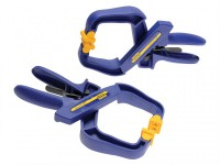 IRWIN Quick-Grip 4in Handy Clamp Twin Pack was £21.50 £12.99