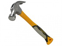Roughneck Claw Hammer 20.Oz Fibreglass Handle £9.99