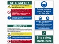 Scan Construction Site Pack 5 Pack £108.96 This Scan Safety Sign Site Pack Contains 5 Signs.the Pvc Signs Aggressive Waster-based Adhesive Enables Them To Easily Stick On To And Remain On Any Wall. All Signs Are Printed Using Uv Resistant Ink
