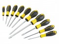 Stanley Tools 0-60-211 Essential Screwdriver Set of 10 PH/SL/PZ £14.99 Stanley Essential Screwdrivers Have Bars Made From Chrome Vanadium Steel, Which Resists Bending And Snapping. The Handles Are Made From Polypropylene, With Tpr Overlay For Increased Comfort And Reduce