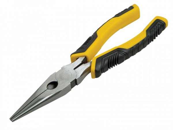 Stanley Tools ControlGrip Long Nose Cutting Pliers 150mm