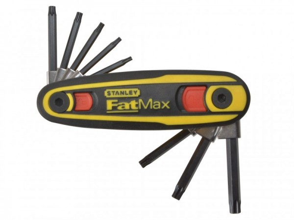 Stanley Fatmax Locking Hex Key Set Torx (T9-T40)