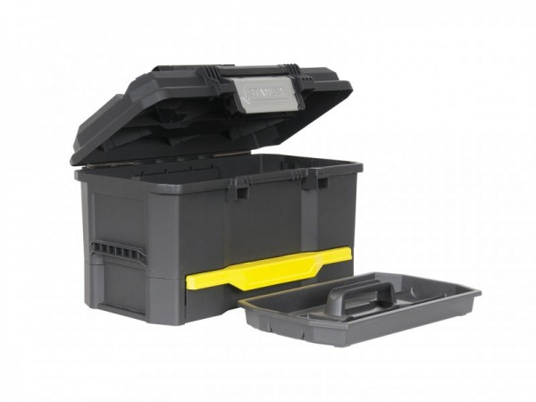 Stanley One Touch Toolbox 19in With Drawer