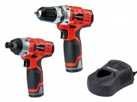 Einhell TC CD/CI Cordless 12 Volt 2 x 1.5Ah Li-ion, Twin Pack was £99.95 £79.99
