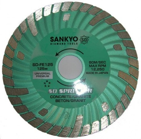 Sankyo 125MM Sprinter Diamond Cutting Disc