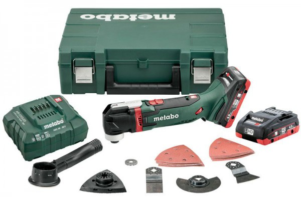 Metabo MT18LTX 18V Cordless Multi-Tool with 2 x 4.0Ah LiHD Batteries