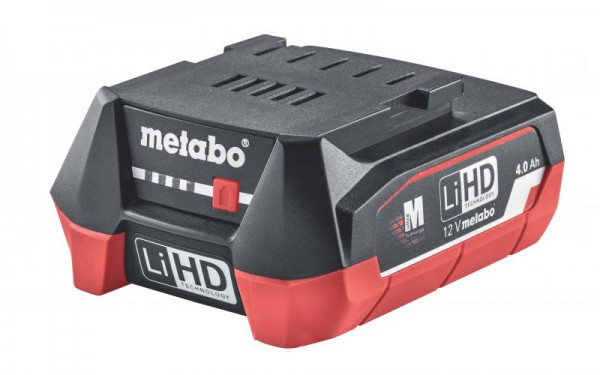 Metabo 12V LiHD 4.0Ah Battery Pack