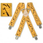Brimarc Yellow Tape Measure Braces £16.59