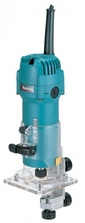 MAKITA 3707F 240VOLT LAMINATE TRIMMER WITH WORK LIGHT