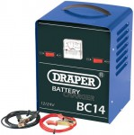 DRAPER 12/24V 12A BATTERY CHARGER  was £79.95 £39.95