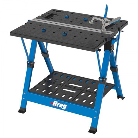 Kreg KWS1000 Mobile Project Center Bench With AutoMax Bench Clamp