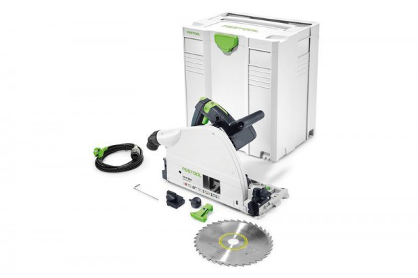 Festool 561441 TS75EBQ-PLUS 240V 210mm Plunge Saw With T-loc Systainer Case (No Rail)