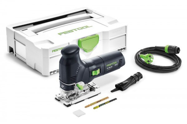 Festool 561449 110V PS300EQ-PLUS Body Grip Jigsaw With Systainer T-loc Case