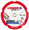 Lenox 2030863 METALMAX Diamond Edge Cutoff Wheel, 75 x 9.52 x 1.3 for Die Grinder £12.99 1,000+ Cuts: 