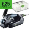 FESTOOL 574560 New EHL65EQ-PLUS 240V 65MM ONE HANDED PLANER & T-LOC CASE £284.95 Festool 574560 Ehl65eq-plus 240v 65mm One Handed Planer & T-loc Case