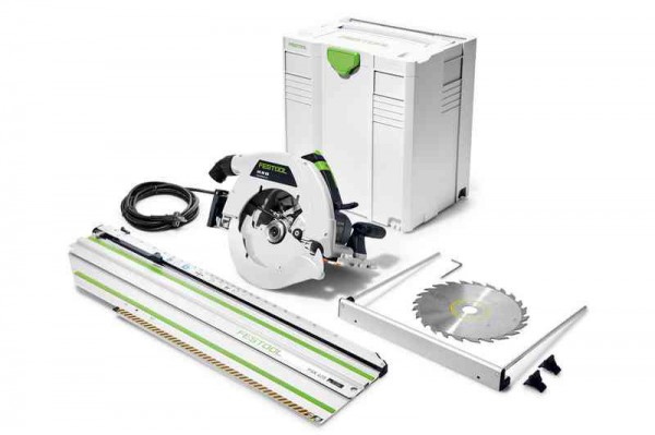 Festool 574668 240V HK 85 EBQ-Plus-FSK420 GB  230mm Circular Saw & 420 Track Rail & SYS5 Case