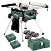 Metabo TS 36-18 LTX BL 254 Cordless Table Saw with Stand/Trolley Function, 4 x 8.0Ah, 2 x Chargers (Class 9 Delivery) £1,229.95 Uk Mainland Delivery Only