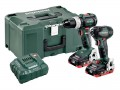 Metabo Combo Set 2.1.12 18V  BL LIHD Cordless Twin Pack with 2 x 3.5Ah Batteries, Charger and MetaLoc Case  £369.95 Metabo Combo Set 2.1.12 18v  bl Lihd Cordless Twin Pack With 2 X 3.5ah Batteries, Asc 30-36 Charger And Metaloc Case 