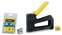 Stanley Hobby 8 Staple Gun With 2000 8mm Staples   £4.99