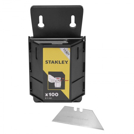 Stanley Tools 1992B Knife Blades Heavy-Duty Pack of 100 Dispenser