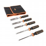 Triton TWCS5 5pce Wood Chisel Set 6, 12, 19, 25 & 32mm With Storage Wallet £26.99