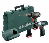 Metabo Comboset 2.5 10.8V SB + SSD, 2 x 10.8V 2.0Ah, LC40 Charger + Carry Case £129.95