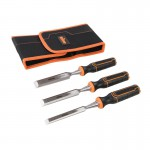 Triton TWCS3 3pce Wood Chisel Set 13, 19 & 25mm With Storage Wallet £15.99