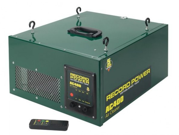 Record Power AC400 Workshop Air Cleaner & FREE DELIVERY!!