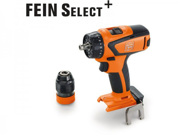 Fein ASCM18QSW 18V Brushless 4-Speed Drill/Driver SELECT Body Only With Case