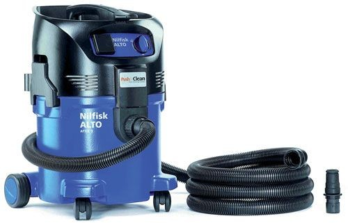 NILFISK-ALTO ATTIX 30-21PC 240VOLT AUTO SWITCHING EXTRACTOR