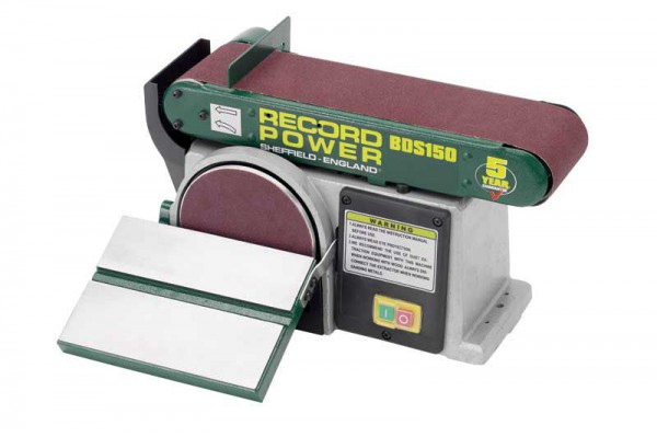 Record Power RSBDS150 Belt And Disc Sander & Free Delivery!
