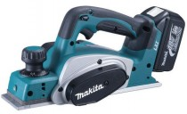 MAKITA BKP180RFE 18VOLT CORDLESS PLANER 82MM BLADE MAX CUT 2MM, 2 x 3AMP LITHIUM BATTERIES, CHARGER & CASE £389.95