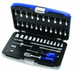 Britool 1/4inch Drive Socket Set And Accessory Set (42 Piece) £75.18 The Britool Brie030702b 42 Piece 1/4 Inch Socket And Accessory Set Includes The Following:1/4 Inch Hex Sockets: 4 - 4.5 - 5 - 5.5 - 6 - 7 - 8 - 9 - 10 - 11 - 12 - 13 - 14mm.1/4 Inch Pozidriv® Scre