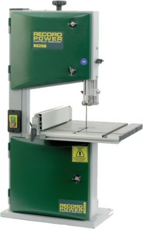 Record Power BS250 Bench Top Bandsaw 120mm Cut 1/2hp & Free Delivery!