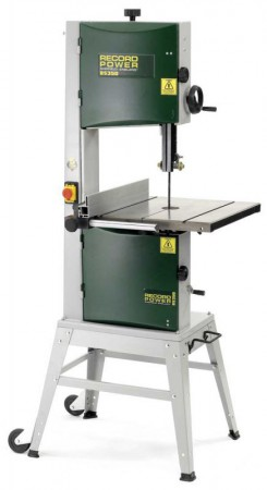 Record Power BS350-s 240v Floor Standing Bandsaw With Stand, Pedal Wheel Kit , 3pc Blade Pack & Free Delivery!