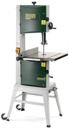 Record Power BS350-s 240v Floor Standing Bandsaw With Stand & Wheels & Free Delivery!