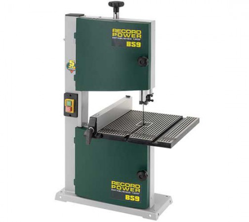 "Record Power BS9 9"" Hobby Bench Top Bandsaw"
