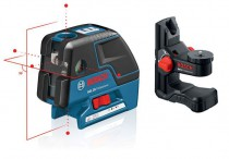 BOSCH GCL25 Combi laser, Cross line with 5 point laser in one device + BM1 Wall Mount + L-Boxx was £269.95 £219.95