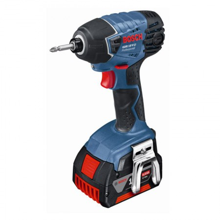 Bosch GDR18VLi 18V Impact Driver With 2 x 4.0Ah Li-ION Batteries With L-BOXX