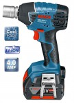 Bosch 18V GDS18-V-LI Impact Wrench With 2 x 4.0Ah Li-ION Batteries & L-BOXX was £329.95 £269.95