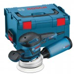 BOSCH GEX125-150AVE 240V 400W 125MM & 150MM RANDOM ORBIT SANDER IN L-BOXX £224.95