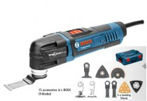 Bosch GOP 30-28 110V 300W Professional Starlock Multi-Cutter with 15 x Accessories & L-Boxx was £169.95 £139.95