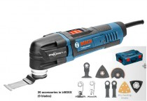 Bosch GOP 30-28 110V 300W Professional Starlock Multi-Cutter with 20 x Accessories & L-Boxx was £169.95 £149.95