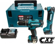Makita CLX203AJX1 10.8V CXT 2 Piece Kit: HP331D, TM30D, 2 x Batteries, Charger, Accessory Kit & Case was £215.95 £179.00