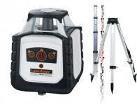 Laserliner Cubus 110 S Robust Fully Automatic Green Beam Rotary Laser With CTP106 Tripod & 5m E-Staff was £749.95 £499.95